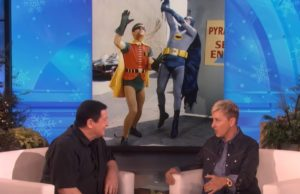 Burt Ward on the Ellen DeGeneres Show talking about Gentle Giants Foundation and Dog Food