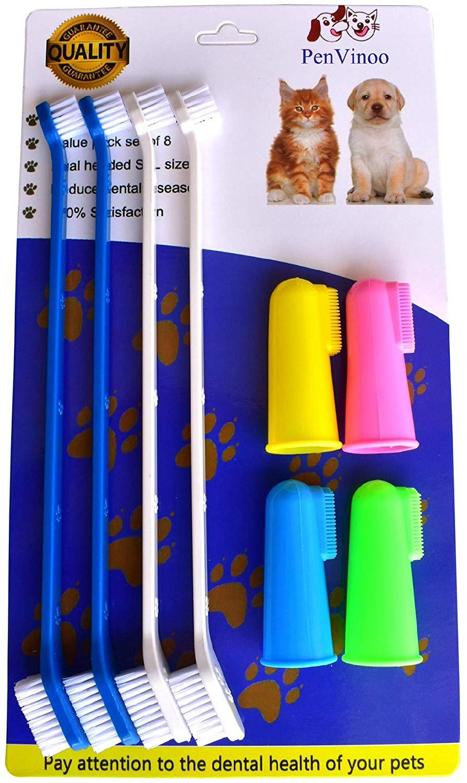 RosyLife Pet Dog Soft Toothbrush